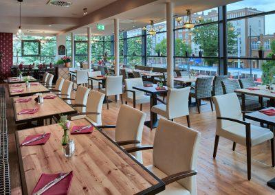 1. Etage Fensterfront - Old Western Restaurant Rostock
