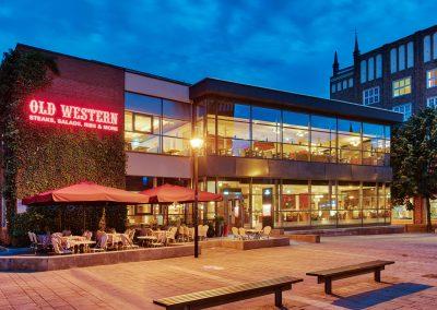 Aussenansicht - Old Western Restaurant Rostock