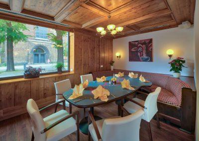 Erdgeschoss Separee mit Couchecke - Old Western Restaurant Rostock